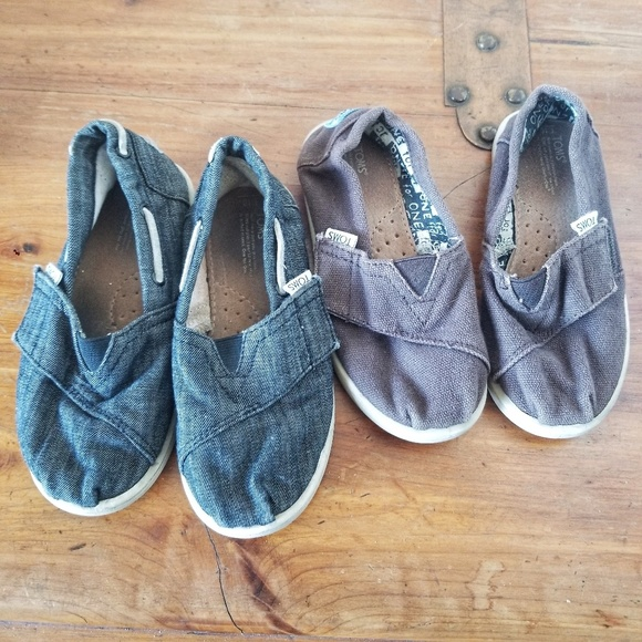 Toms Other - Toms Boys Shoes Lot of 2 pairs